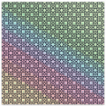 Load image into Gallery viewer, Magical Pattern Square Sticker