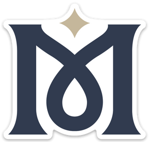 M Emblem Logo Sticker