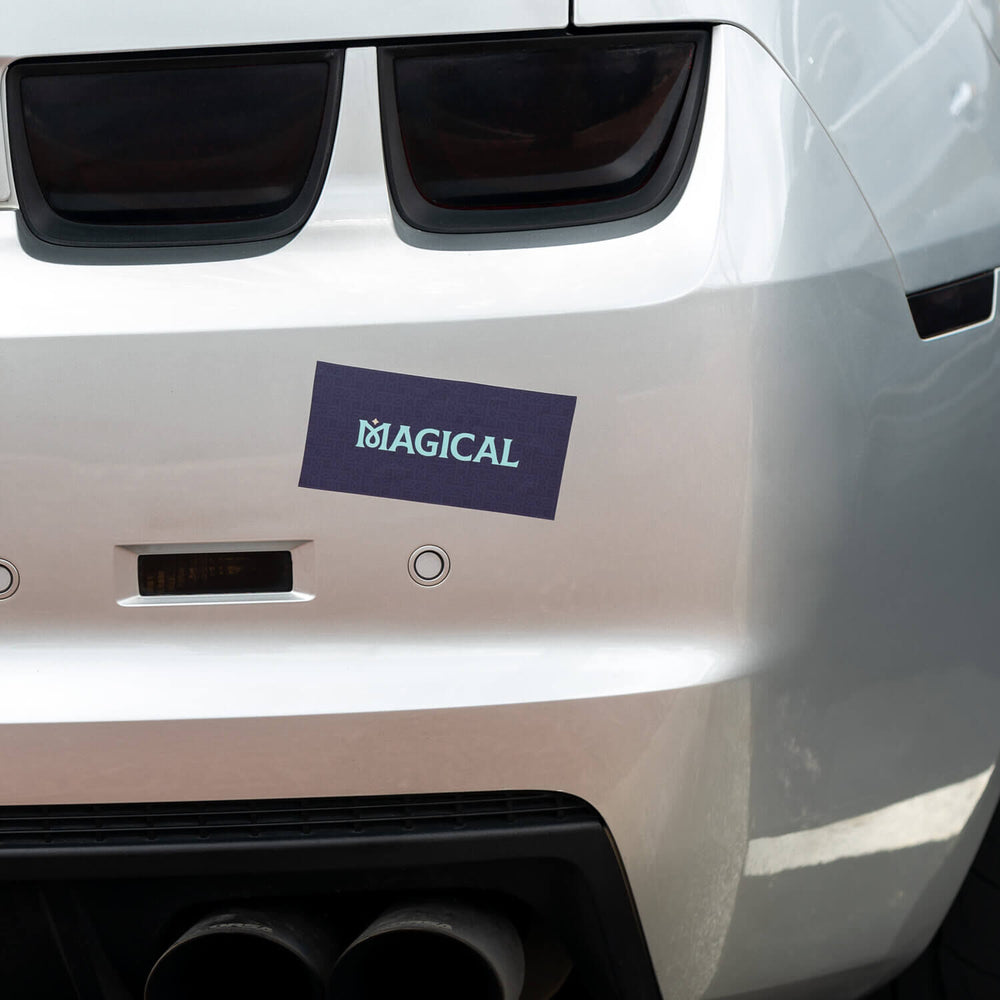 Magical Bumper Sticker
