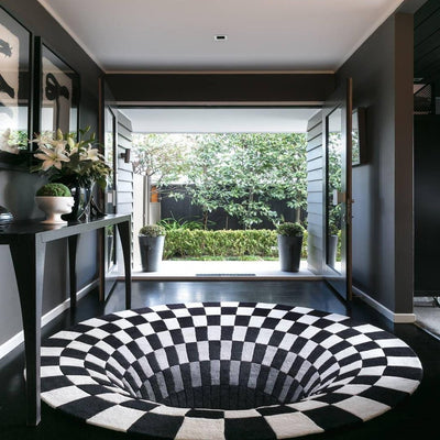 Vortex Rug™ - Handcrafted 3D Illusion House Rug