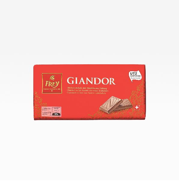 Giandor Milk chocolate with Almond cream filling 100 g