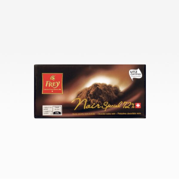 Black chocolate special 72% 100 g