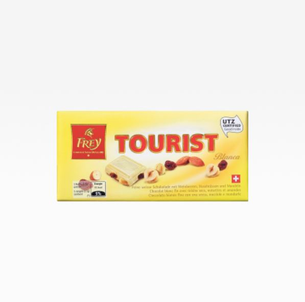 Tourist white chocolate 100 g