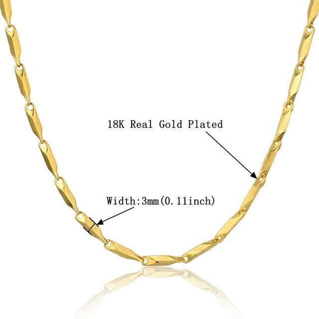 22 Inch  Gold Chain For Men