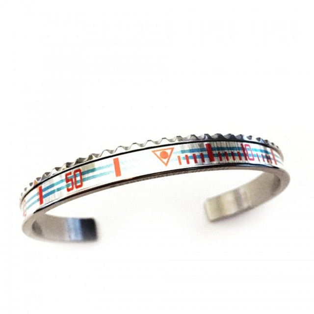 Stainless Steel Cuff Bangles Bracelet