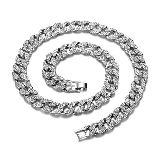 Miami Curb Cuban Chain Necklace