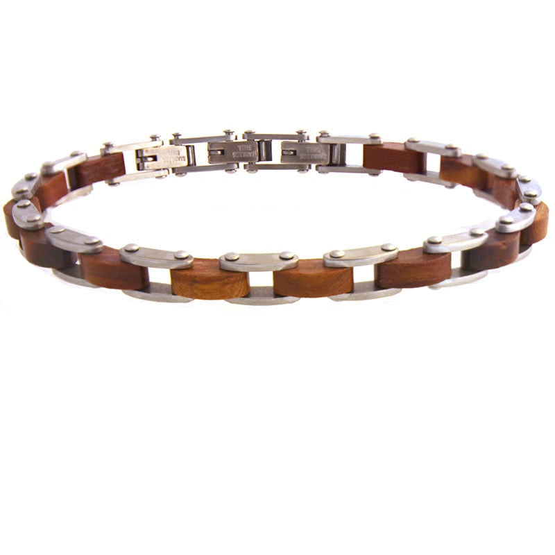 Real Wooden Bracelet For Men