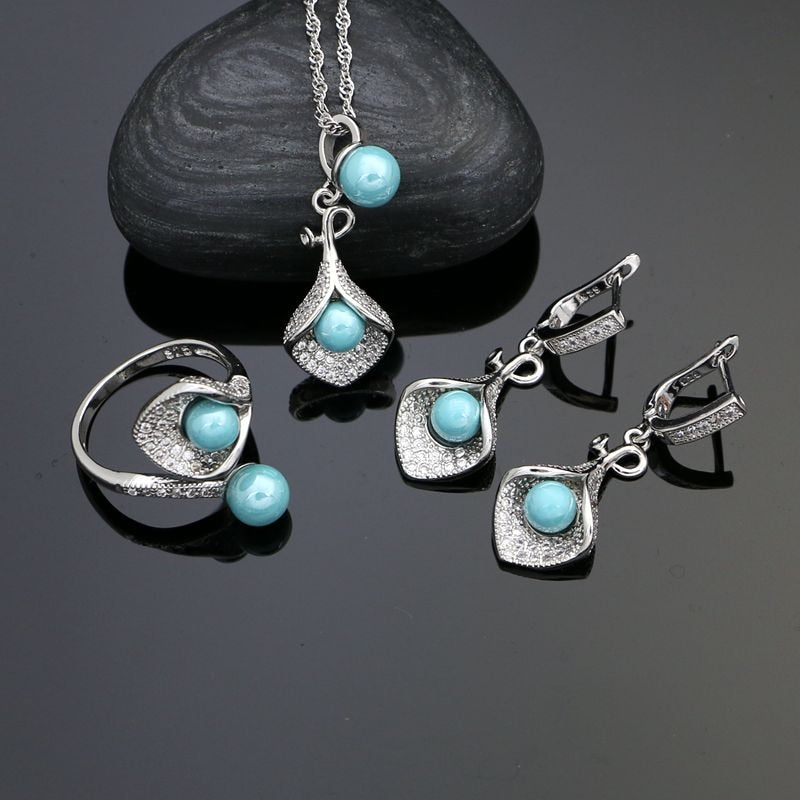 925 Silver Jewelry Sets For Women