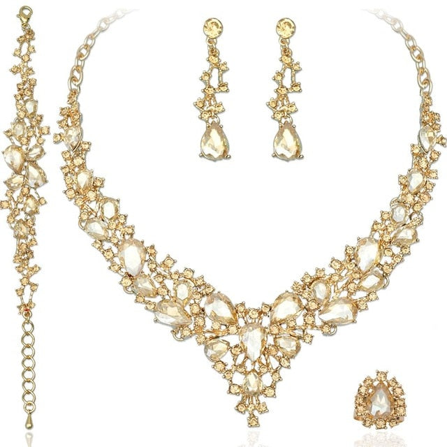 Crystal Jewelry Sets Accessories
