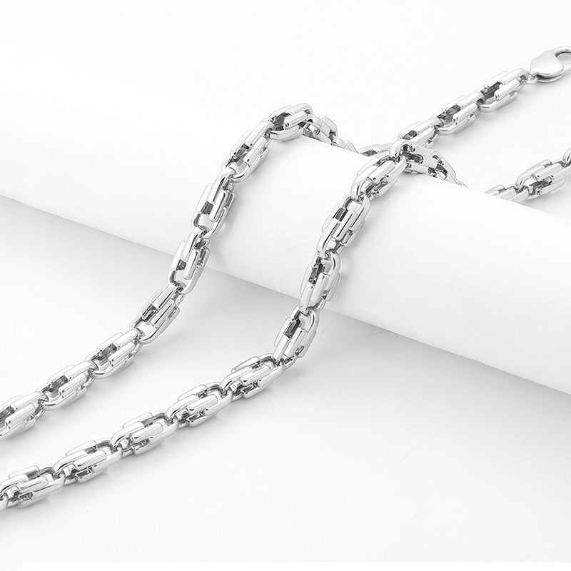 Men's Sterling Silver Thick 925 Necklace
