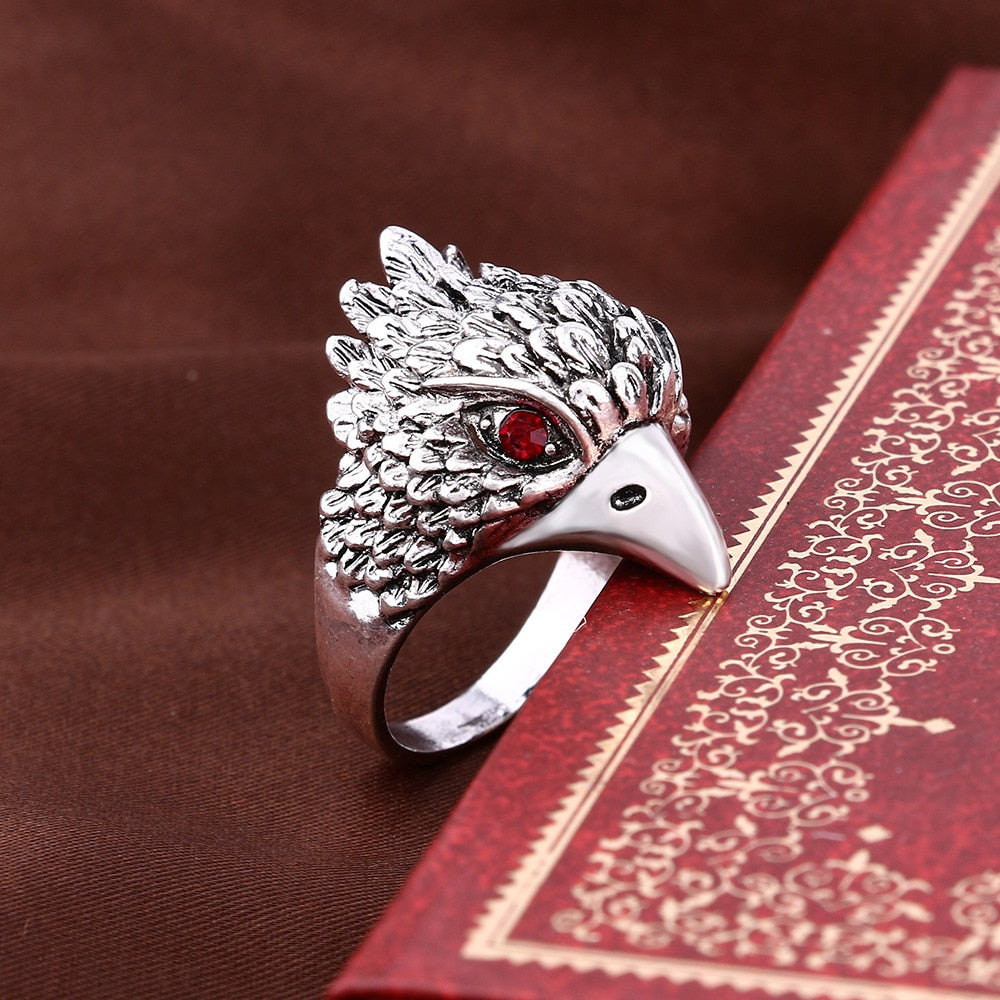 Vintage Punk Animal Ring Gothic