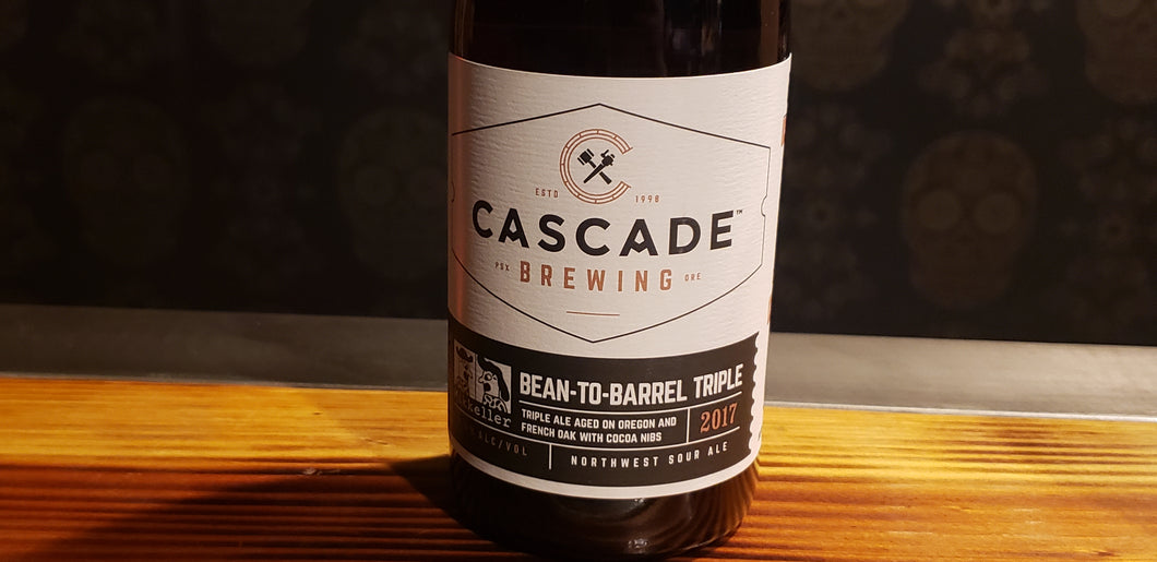 Cascade/Mikkeller, Bean-to-barrel triple 2017 500ml