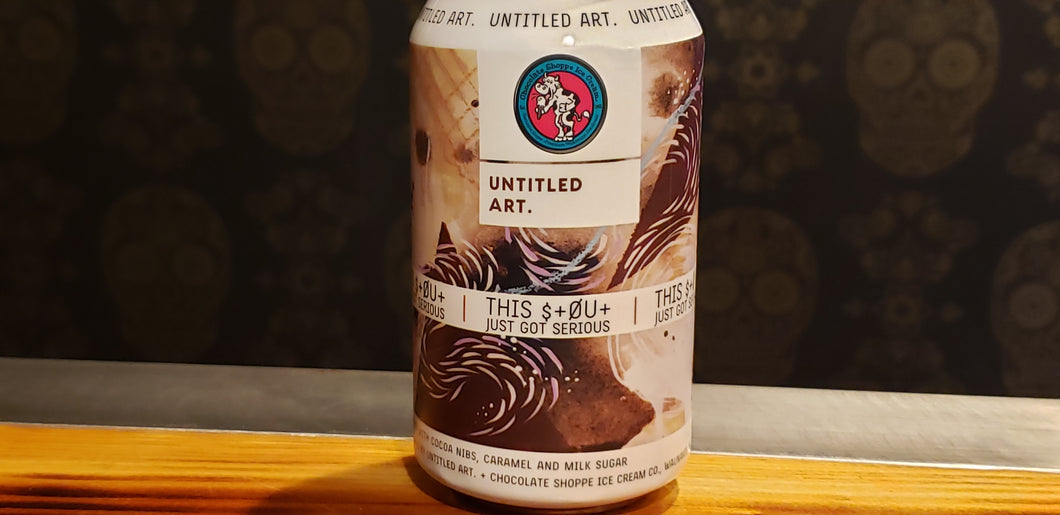 Untitled Art, This Stout Just Got Serious 12oz