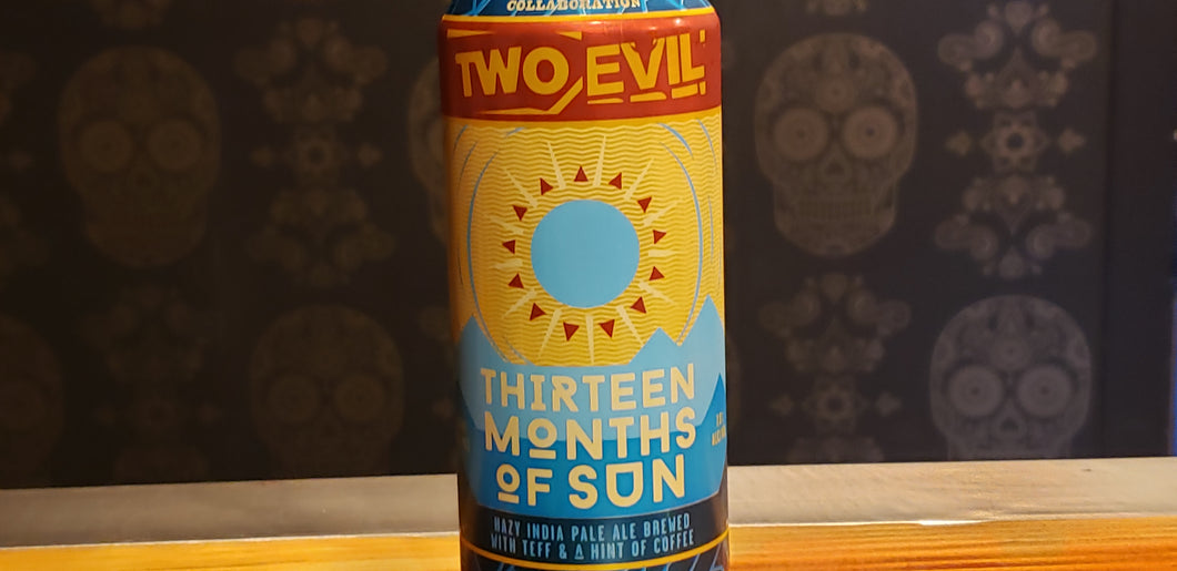 Evil Twin/Two Roads, 13 Months Of Sun 16oz