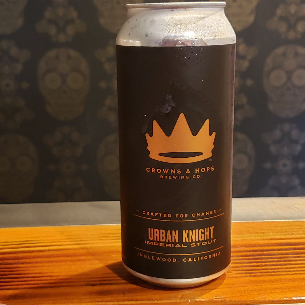 Crowns & Hops, Urban Knight 16oz