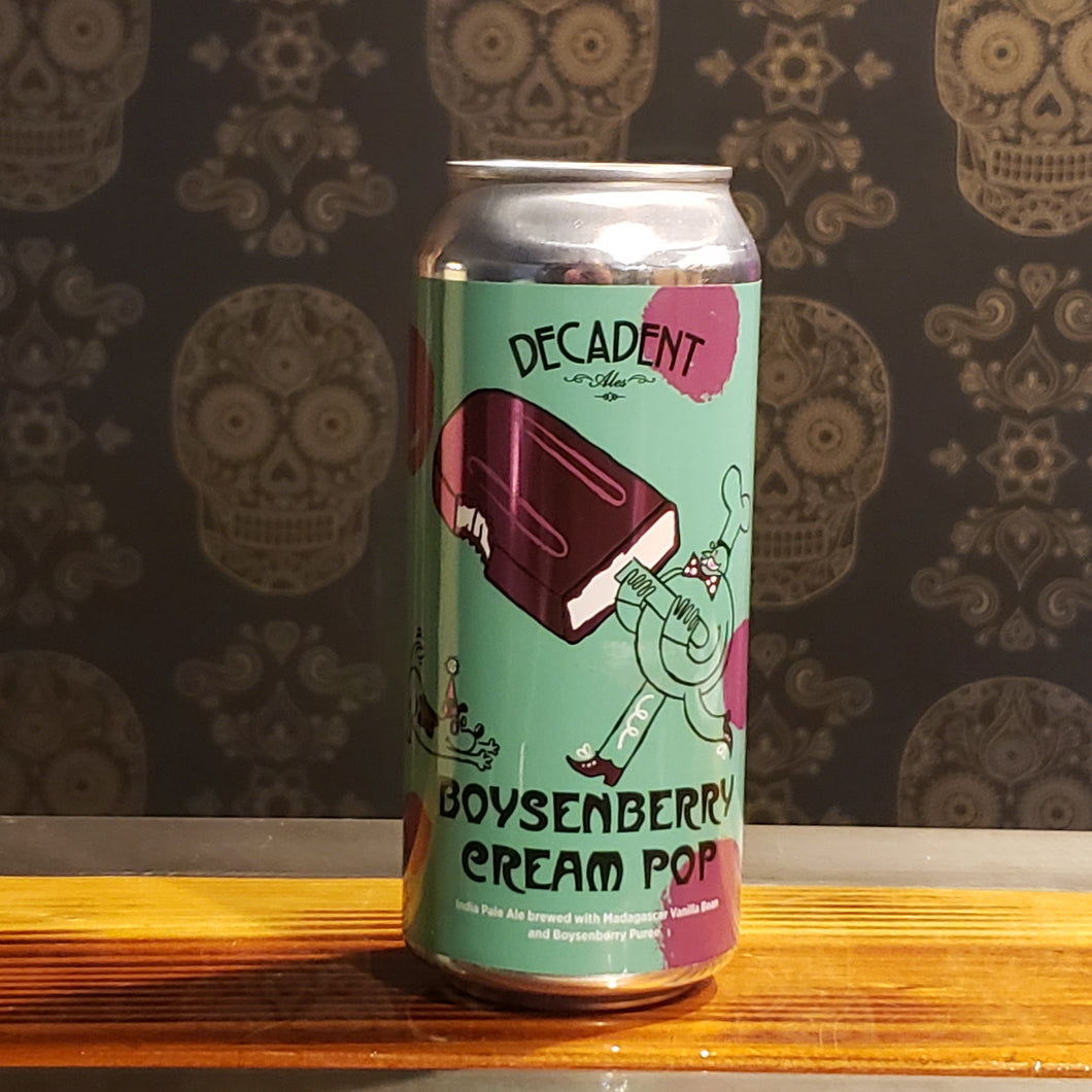 Decadent, Boysenberry Cream Pop IPA 16oz