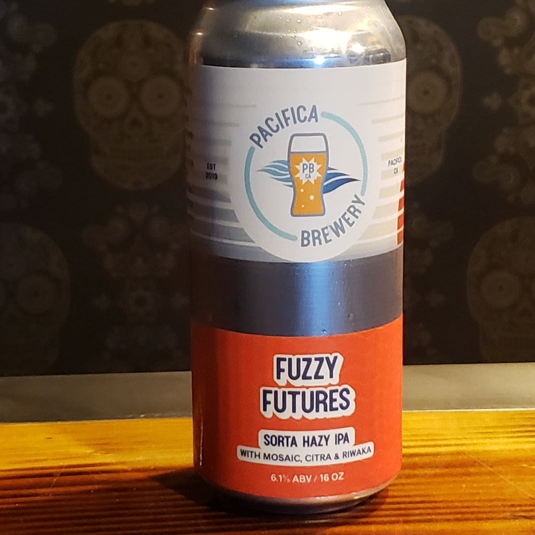Pacifica Brewery, Fuzzy Futures 16oz