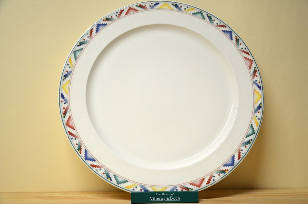 Villeroy & Boch Indian Look Platte rund - Platzteller