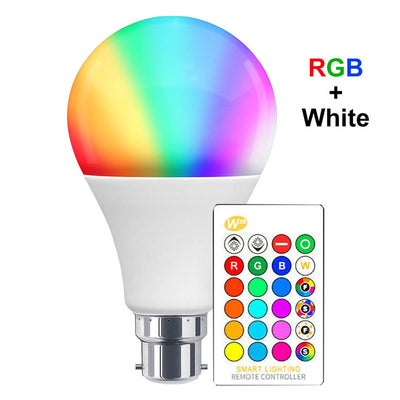 Color Changing Lightbulb with Remote.