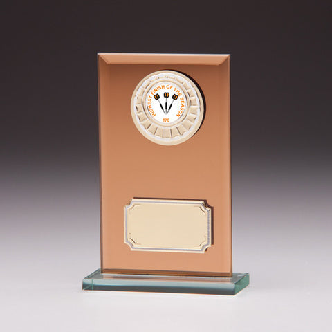 Copper Reflection Multi-Sport Plaque 140mm
