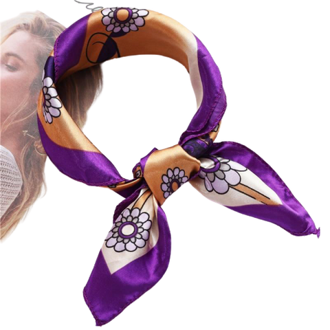 Women Luxury Silk Scarf