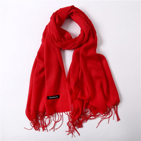 Solid Fashion Scarves
