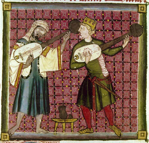 Medieval Sheet Music style=