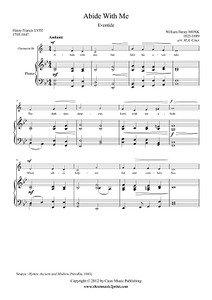 Abide With Me - Clarinet