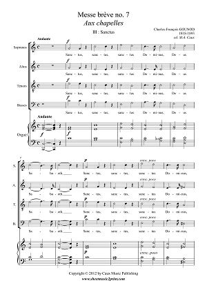 Messe 7 Chapelles - Sanctus