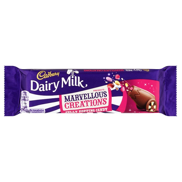Cadbury Dairy Milk Marvellous Creations with jelly popping Candy