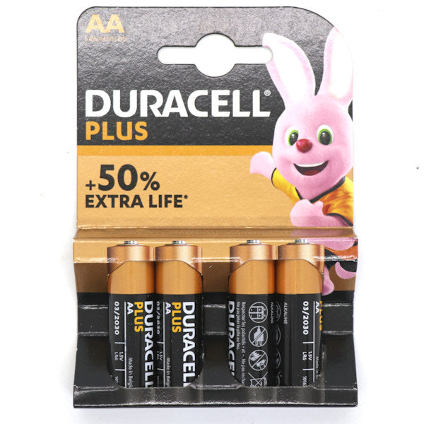 Duracell  Plus Batteries AA x 4