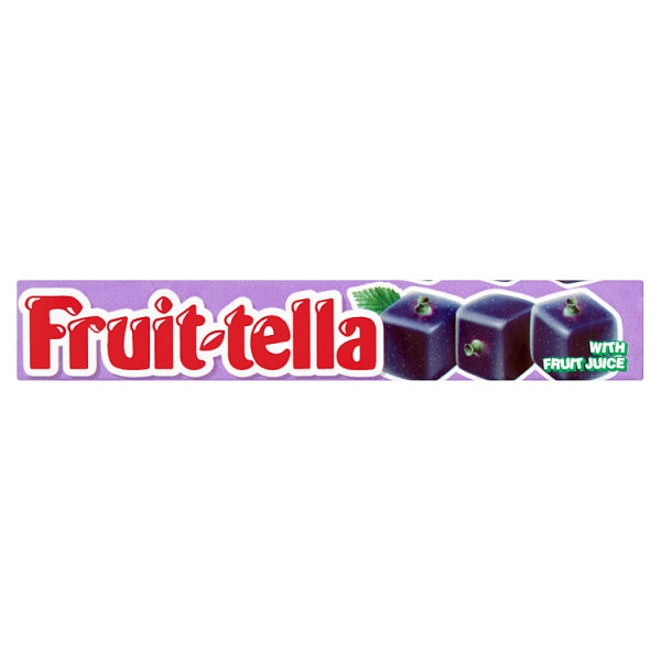 Fruit-tella Blackcurrant tube
