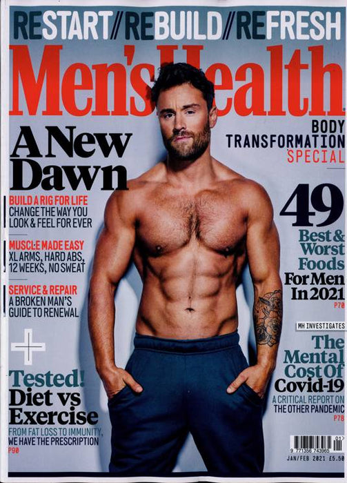 Men's  Health Jan/Feb 21