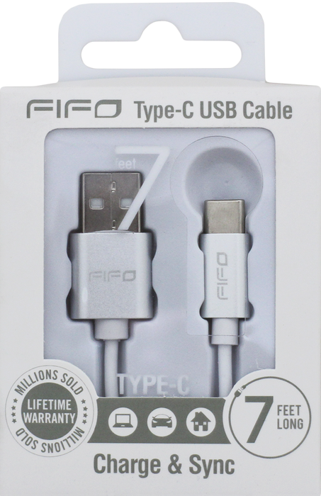 FIFO Type C USB Cable - Charge & Sync
