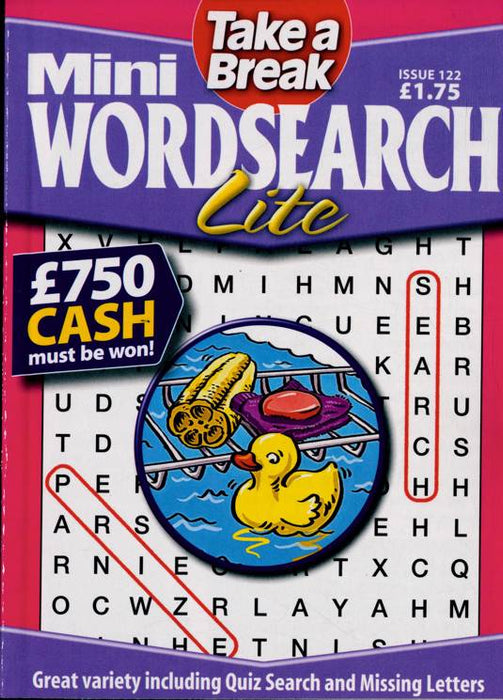 Mini Wordsearch Lite(Take a break)