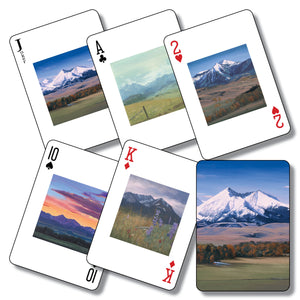 """The Ranch"" playing cards"