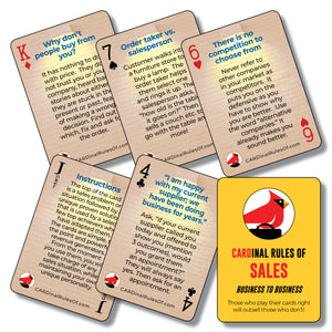 Sales Training Playing Cards - Business to Business