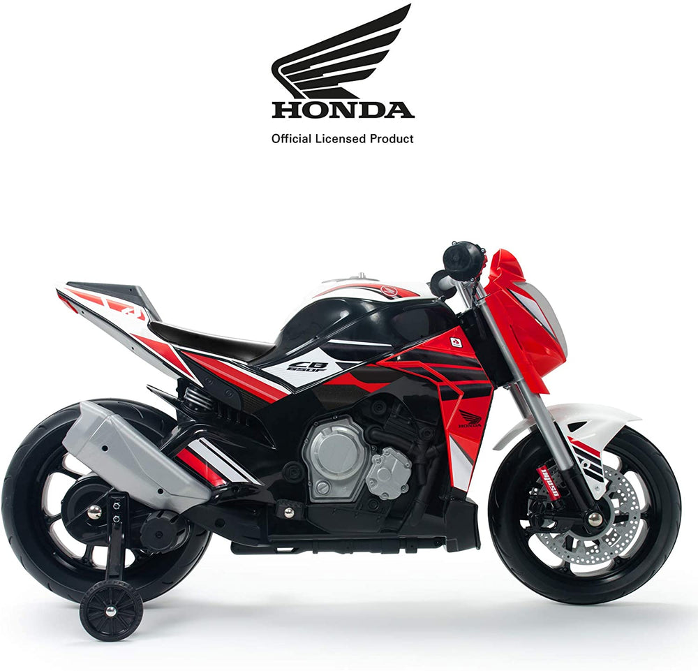 Moto Honda GB 12V con luces LED y mp3