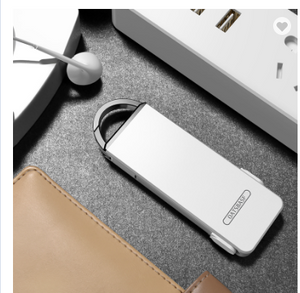 OATSBASF Folding Keychain 3 in 1 Charging Micro USB Cable For iPhone Type c Android