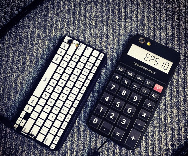 Retro Camera Cassette Tapes Boombox Calculator Keyboard For IPhone