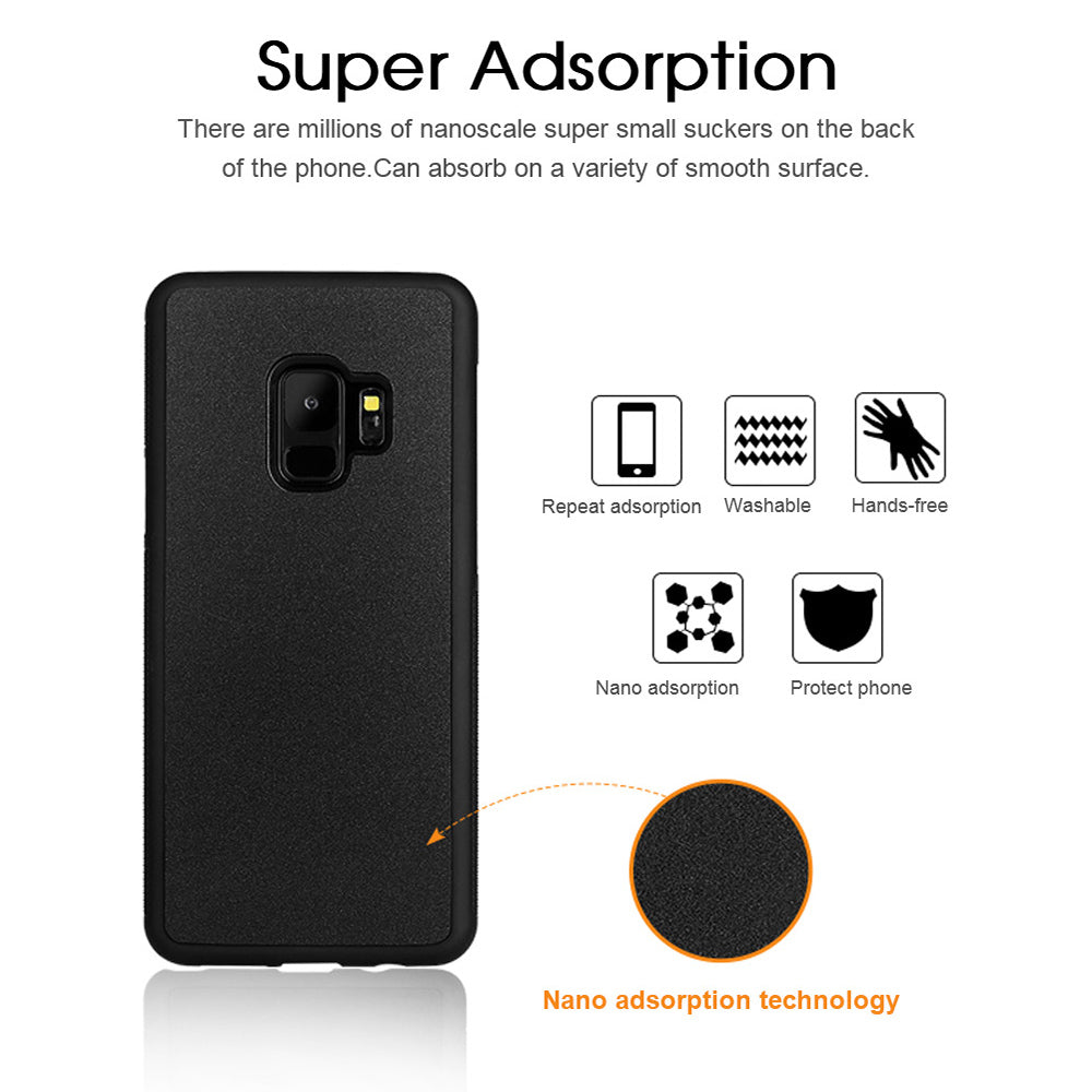Anti Gravity Phone Case For Samsung S9 S8 S7 S6 S5 Edge Plus Note 8 7 5 4 For iPhone X 8 7 6S 6 Plus Adsorbed Cover Cases