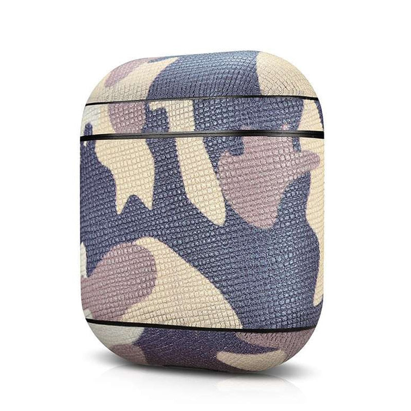 Camouflage Leather  For Apple Airpods