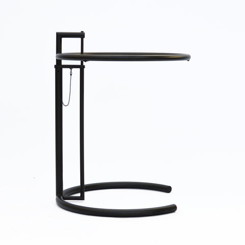 ClassiCon - E 1027 Adjustable Table, schwarz - Design Eileen Gray