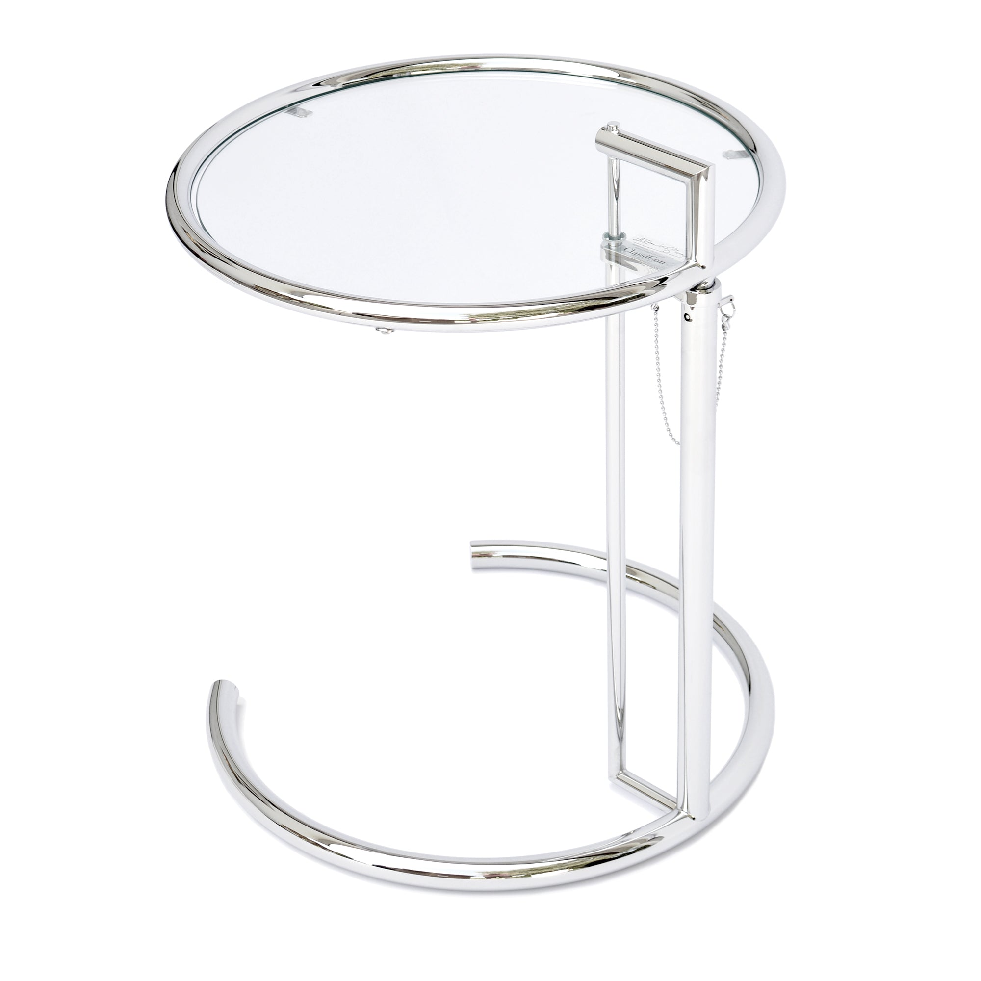 ClassiCon - E 1027 Adjustable Table, verchromt - Design Eileen Gray