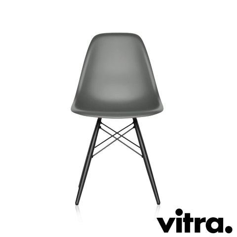 Vitra – Eames Plastic Side Chair DSW, Ahorn schwarz