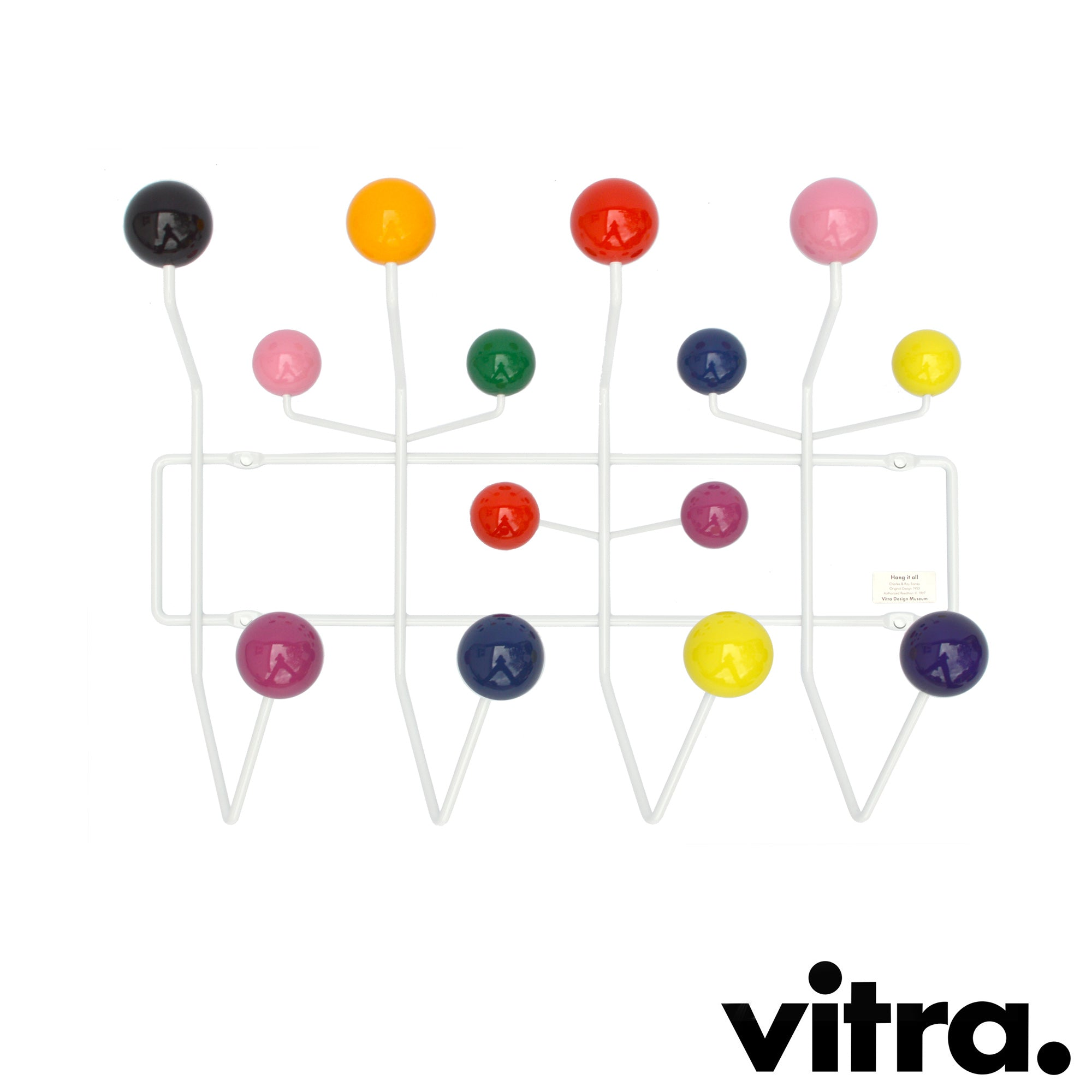 vitra - Hang it all, Charles & Ray Eames, 1953