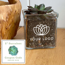 Load image into Gallery viewer, Custom Branded Succulent Gift Kit Corporate Gift