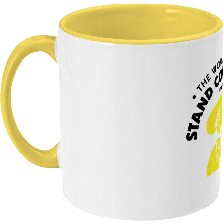 Two Toned Mug The Stand Cowboy | Yellow