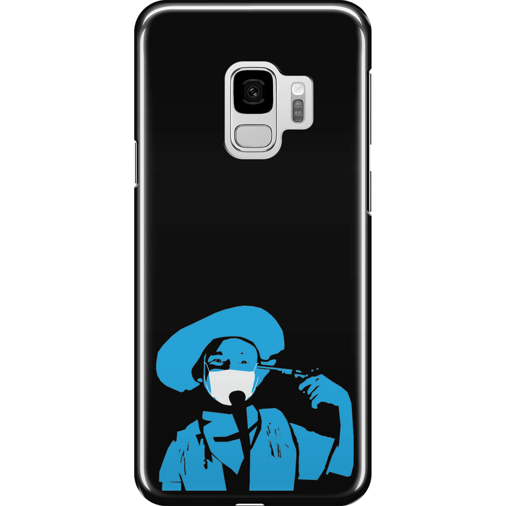 Samsung Galaxy S9 Full Wrap Phone Case |  The Stand Covid Blue Cowboy