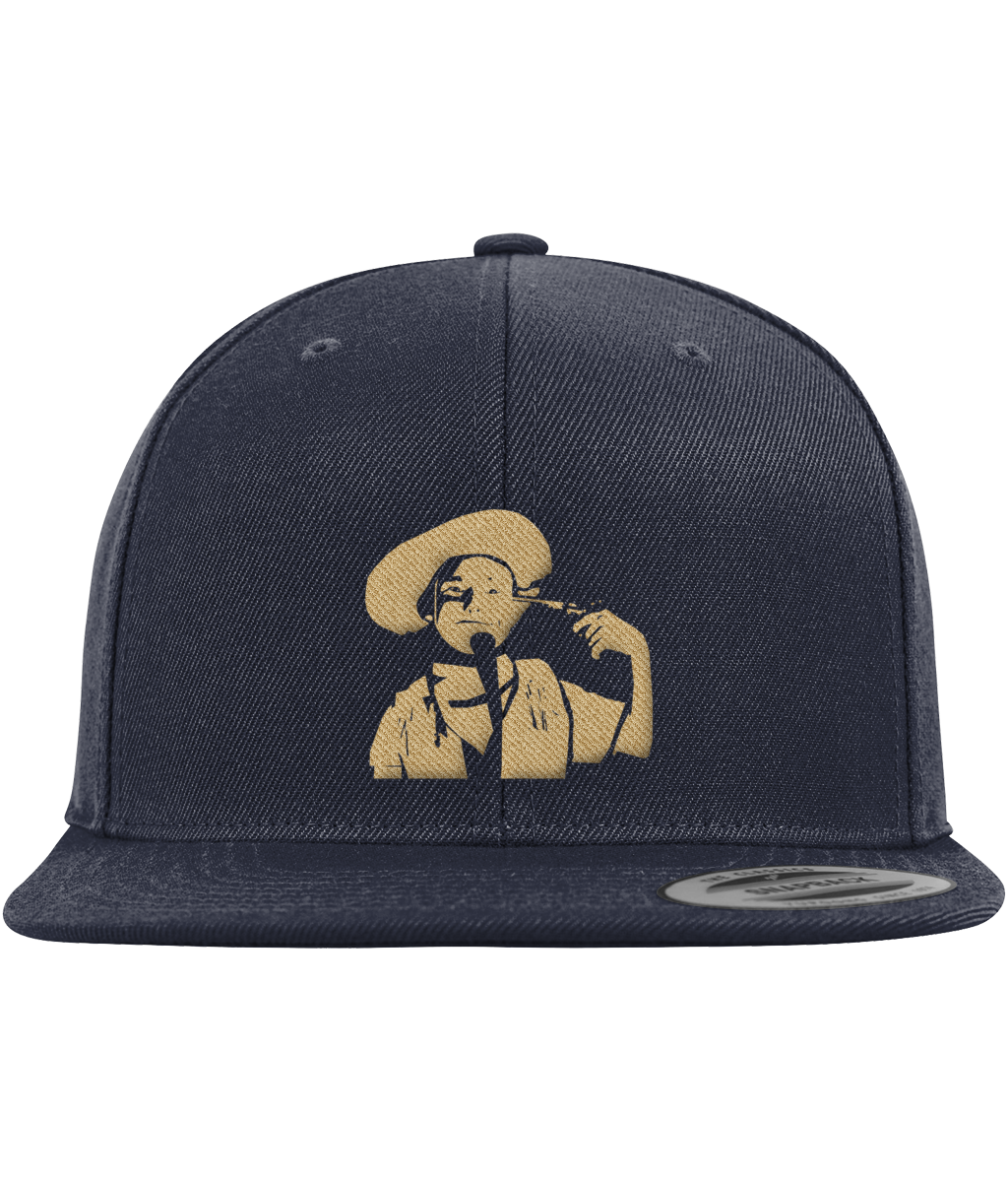 Limited Edition Classic Embroidered Stand Cowboy Logo Baseball Cap